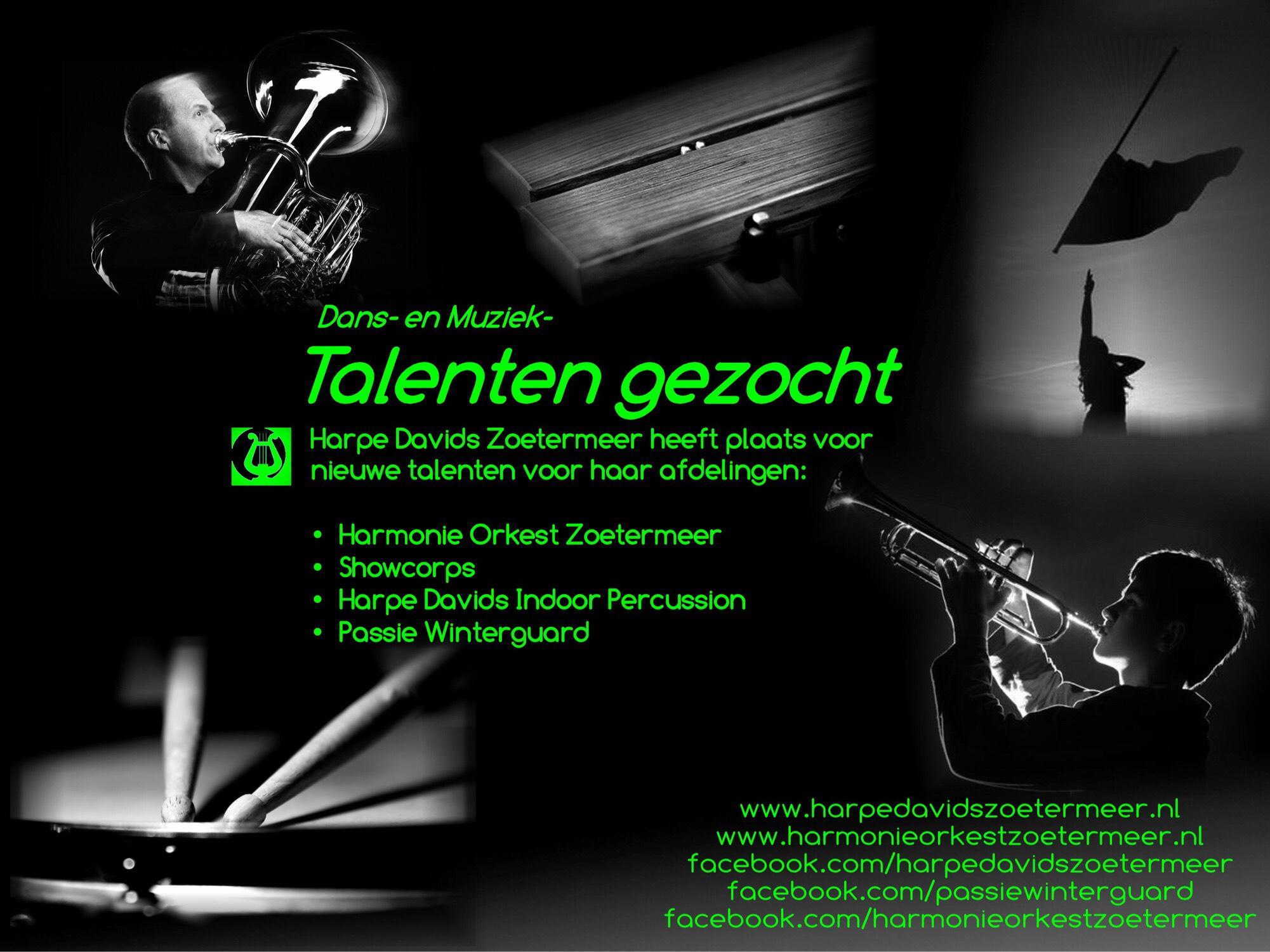 Talenten Gezocht - Harpe Davids Zoetermeer
