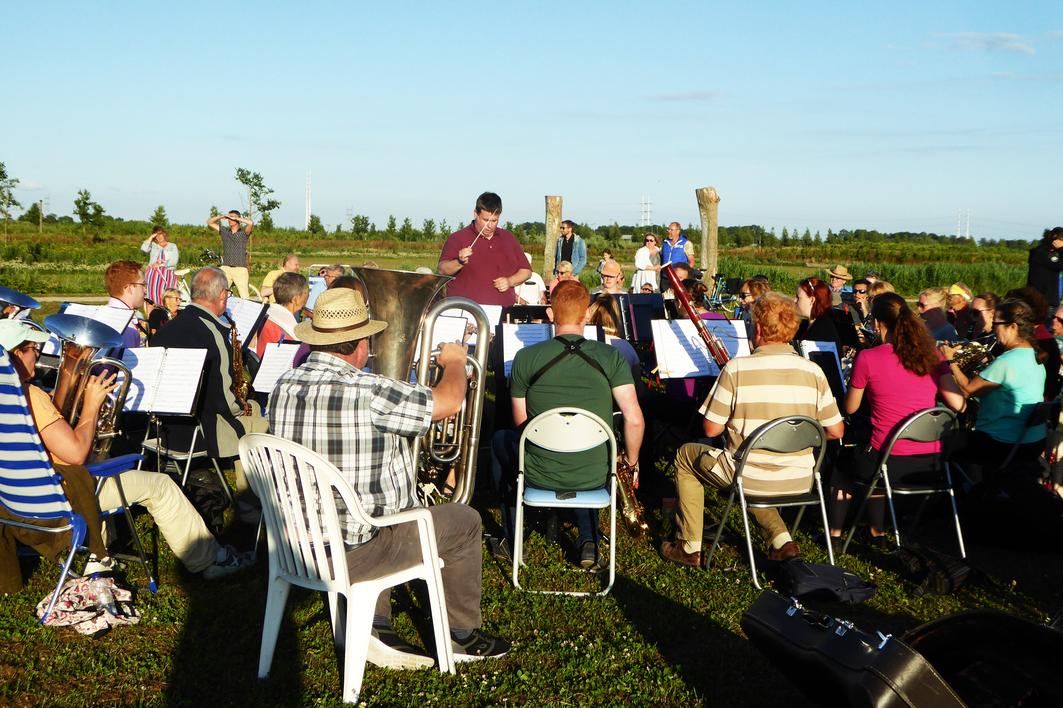 zomeravondconcert harpe davids harmonie orkest zoetermeer bentwoud